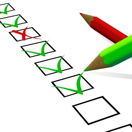 Lista de verificación para los profesores de Escuela Dominical