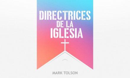 DIRECTRICES DE LA IGLESIA #4 MARK TOLSON